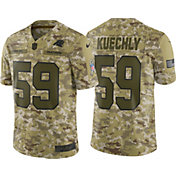 Nike Men's Salute to Service Carolina Panthers Luke Kuechly #59 Camouflage Limited Jersey