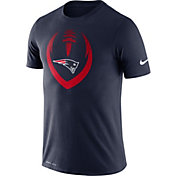 Nike Men's New England Patriots Icon Navy Performance T-Shirt