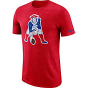 Nike Men's New England Patriots Marled Historic Performance Red T-Shirt