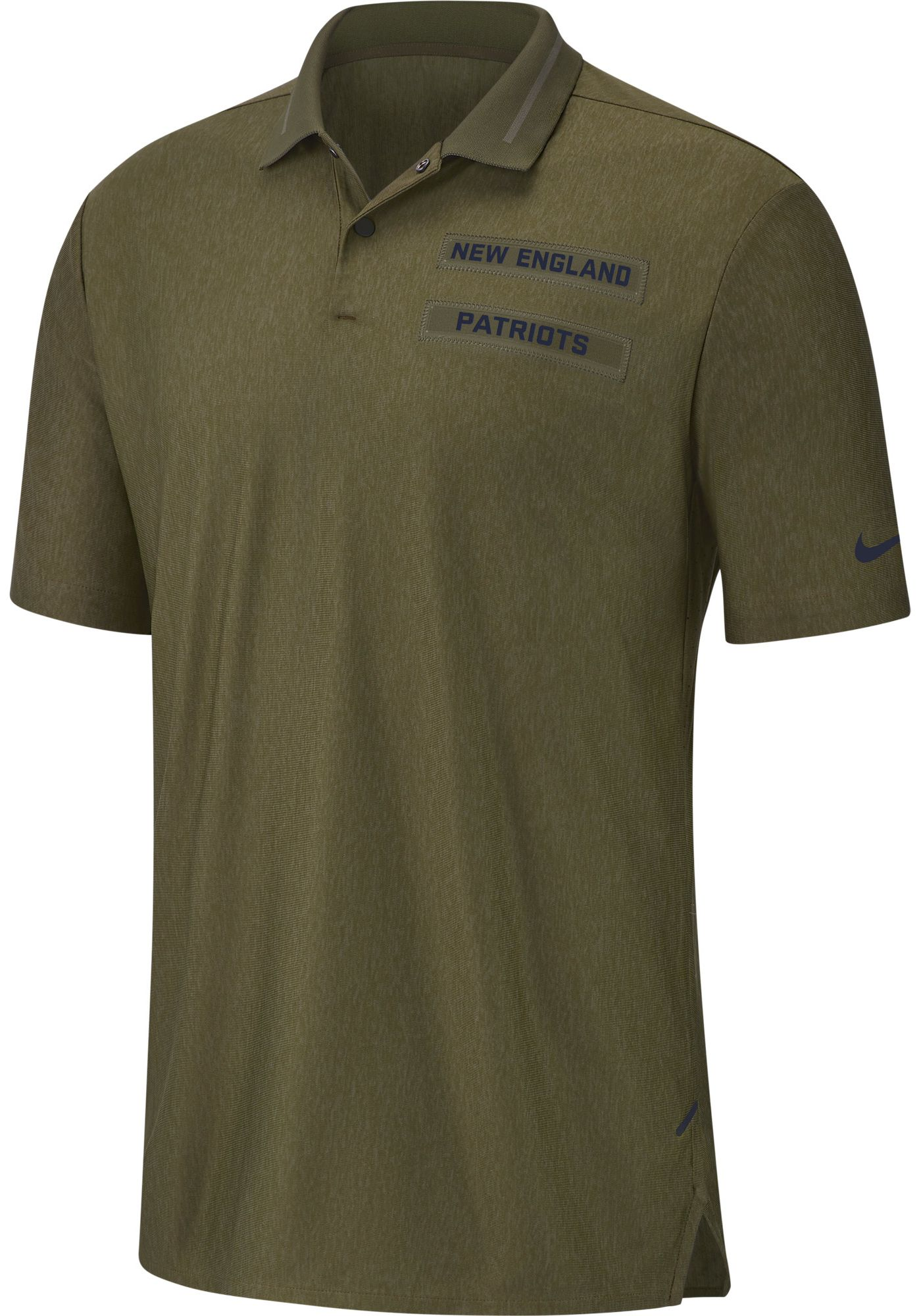 Nike Men's Salute to Service New England Patriots Performance Polo