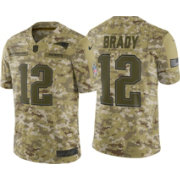 c9c2efe41 Nike Men s Salute to Service New England Patriots Tom Brady  12 Camouflage  Limited Jersey