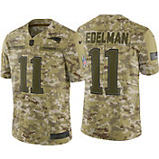 Nike Men's Salute to Service New England Patriots Julian Edelman #11 Limited Camouflage Jersey