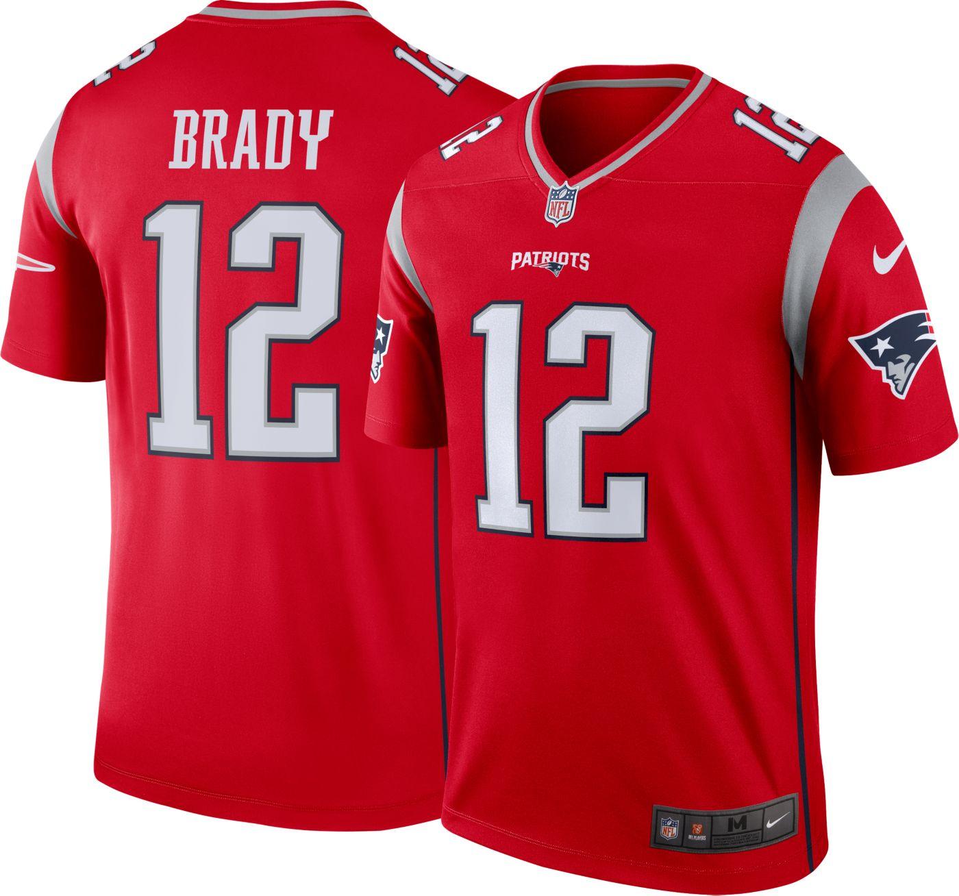Nike Men's Alternate Legend Jersey New England Patriots Tom Brady #12