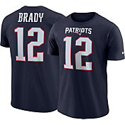 Nike Men's New England Patriots Tom Brady #12 Pride Navy T-Shirt