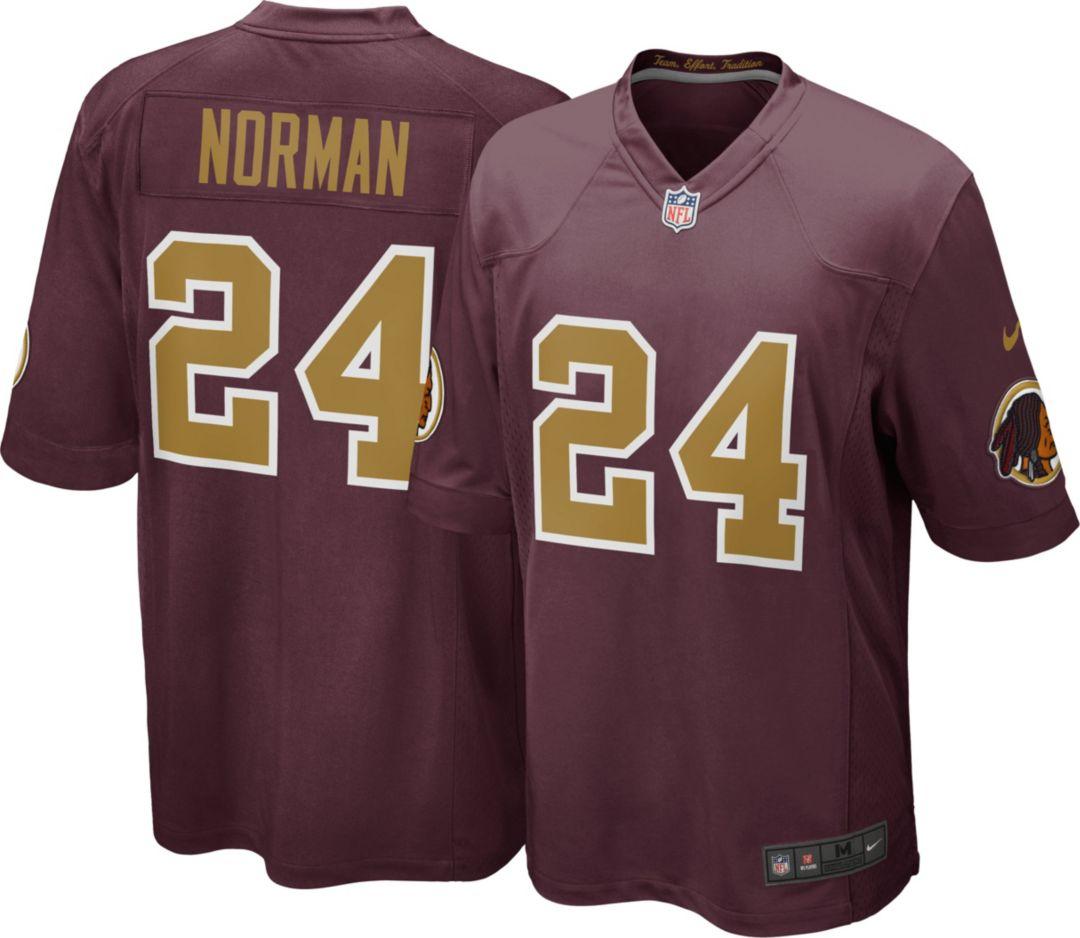 more photos 12cc6 52ab5 Nike Men's Alternate Game Jersey Washington Redskins Josh Norman #24