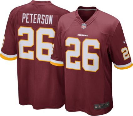 68a525ff9 Nike Men s Home Game Jersey Washington Redskins Adrian Peterson  26 ...