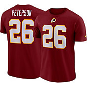 Nike Men's Washington Redskins Adrian Peterson #26 Pride Logo Red T-Shirt