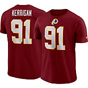 Nike Men's Washington Redskins Ryan Kerrigan #91 Pride Logo Red T-Shirt
