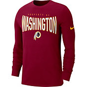 Nike Men's Washington Redskins Sideline Property Of Long Sleeve Red Shirt