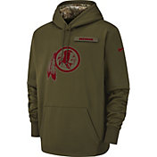 Nike Men's Salute to Service Washington Redskins Therma-FIT Performance Hoodie