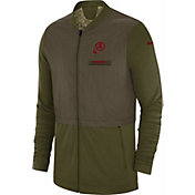 Nike Men's Salute to Service Washington Redskins Hybrid Full-Zip Jacket