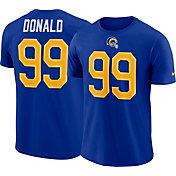 295a90b839bc Product Image · Nike Men s Los Angeles Rams Aaron Donald  99 Pride Logo  Royal T-Shirt