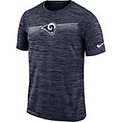 Nike Men's Los Angeles Rams Sideline Legend Velocity Navy T-Shirt