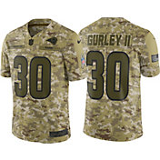 Nike Men's Salute to Service Los Angeles Rams Todd Gurley #30 Limited Camouflage Jersey