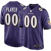 Hayden Hurst Nike Men's Baltimore Ravens Home Game Jersey
