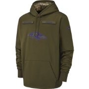Nike Men's Salute to Service Baltimore Ravens Therma-FIT Performance Hoodie