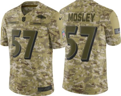 e65473097 Nike Men s Salute to Service Baltimore Ravens C.J. Mosley  57 Camouflage  Limited Jersey. noImageFound