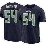 Nike Men's Seattle Seahawks Bobby Wagner #54 Pride Logo Navy T-Shirt