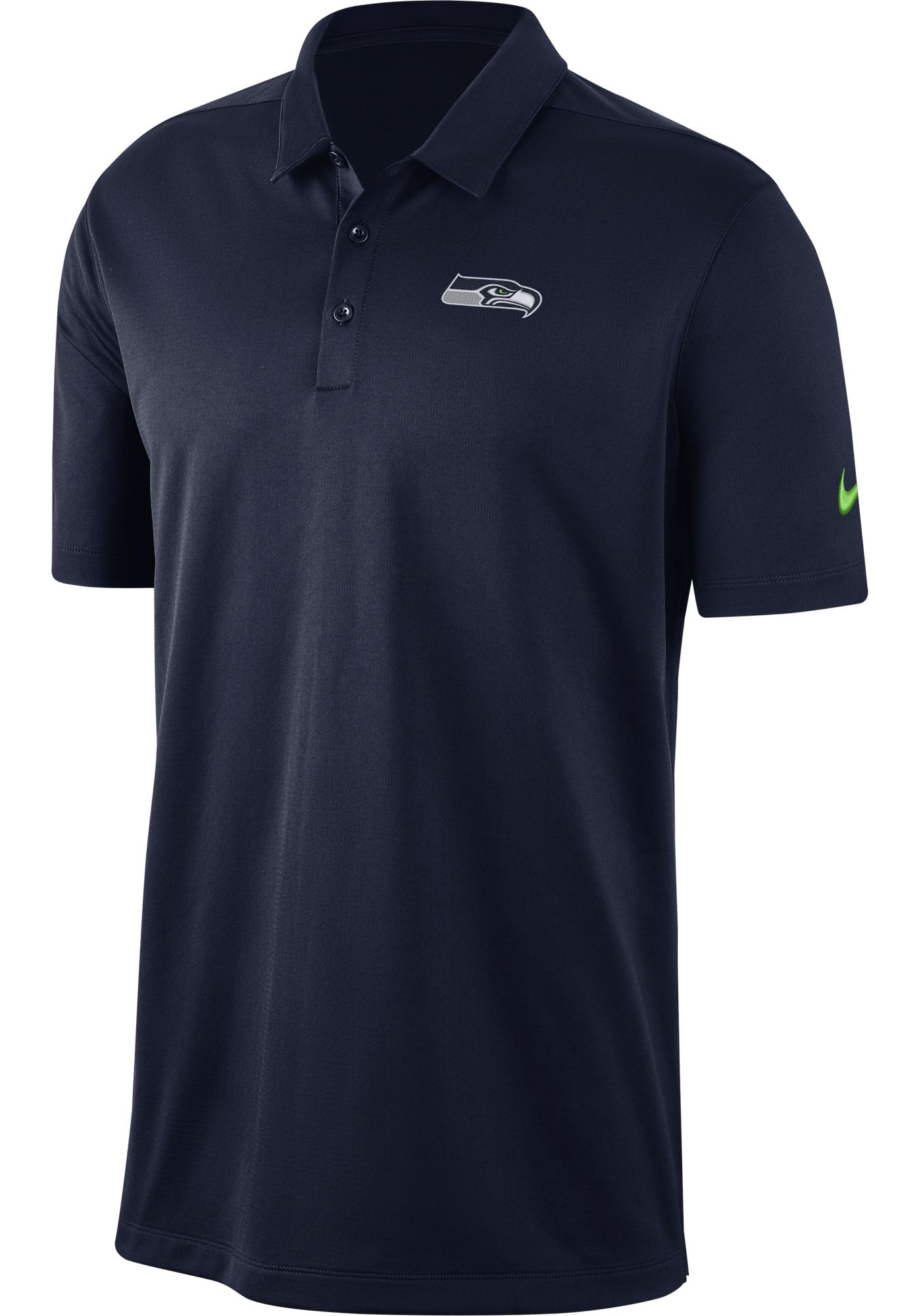 Nike Men's Seattle Seahawks Franchise Navy Polo