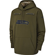 Nike Men's Salute to Service Seattle Seahawks Therma-FIT Performance Hoodie