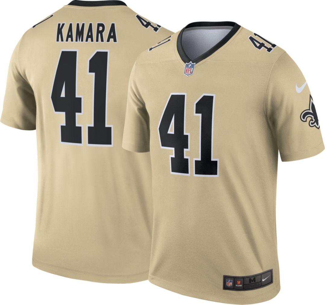 online retailer 33bf3 07f16 Nike Men's Alternate Legend Jersey New Orleans Saints Alvin Kamara #41