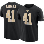 Alvin Kamara #41 Nike Men's New Orleans Saints Pride Black T-Shirt