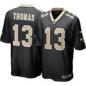 Nike Men's New Orleans Saints Michael Thomas #13 Black Game Jersey
