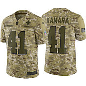 Nike Men's Salute to Service New Orleans Saints Alvin Kamara #41 Camouflage Limited Jersey