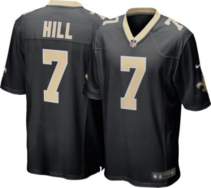 081eb54cc75c Nike Men s Home Game Jersey New Orleans Saints Taysom Hill  7 ...