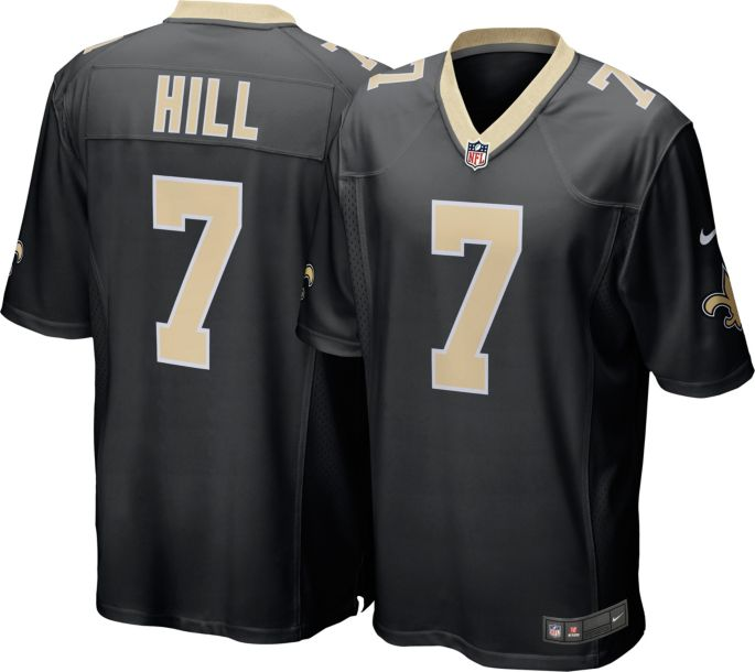 cheaper 9f4bc ef416 Nike Men's Home Game Jersey New Orleans Saints Taysom Hill #7