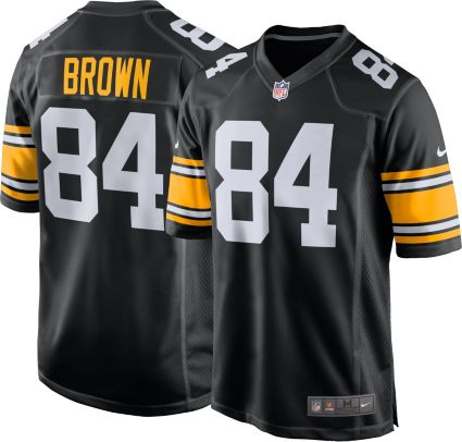 3da66d88d1a get nike mens alternate game jersey pittsburgh steelers antonio brown 84  55e15 df0af