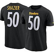 Nike Men's Pittsburgh Steelers Ryan Shazier #50 Pride Black T-Shirt