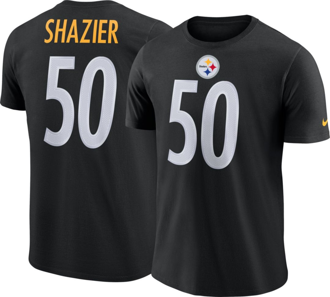 free shipping 9766e a2f6c Nike Men's Pittsburgh Steelers Ryan Shazier #50 Legend Black T-Shirt
