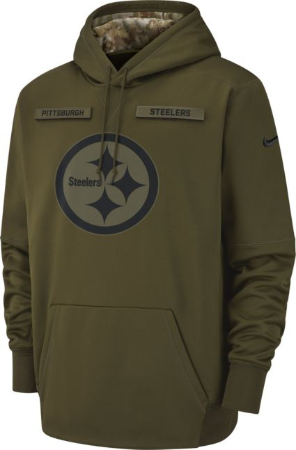 Nike Men s Salute to Service Pittsburgh Steelers Therma-FIT Performance  Hoodie. noImageFound fc49a215e