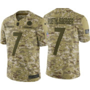 Nike Men's Salute to Service Pittsburgh Steelers Ben Roethlisberger #7 Camouflage Limited Jersey