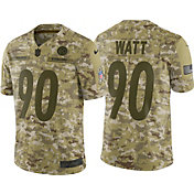 Nike Men's Salute to Service Pittsburgh Steelers T.J. Watt #90 Camouflage Limited Jersey