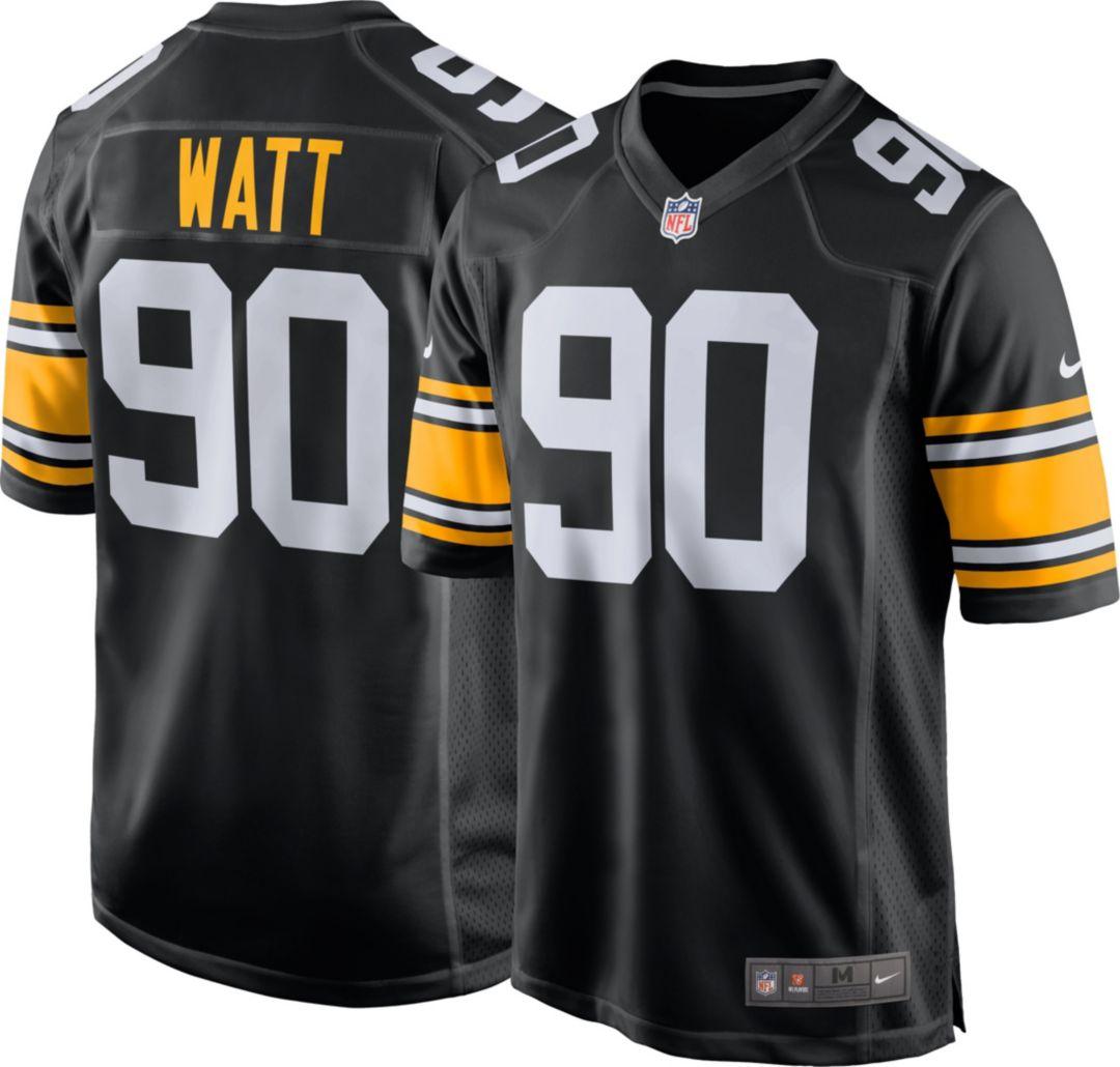 1d41cdebfbc Nike Men's Alternate Game Jersey Pittsburgh Steelers T.J. Watt #90 ...