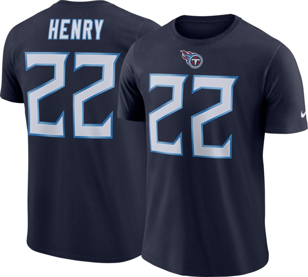 cheap for discount f172b 077b4 Nike Men's Tennessee Titans Derrick Henry #22 Pride Logo Navy T-Shirt