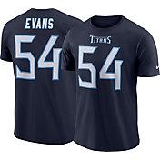 Rashaan Evans #54 Nike Men's Tennessee Titans Pride Navy T-Shirt