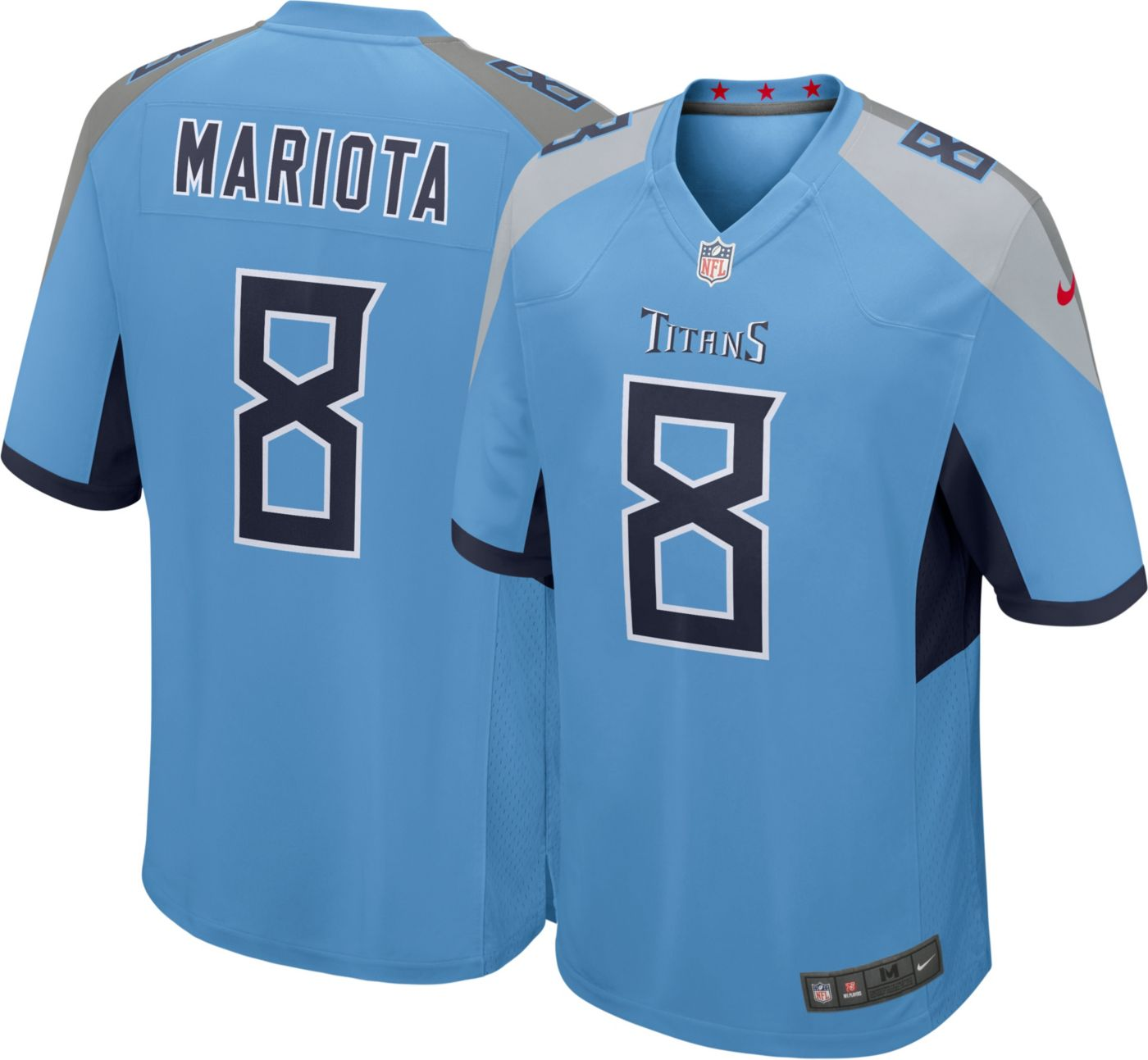 Nike Men's Alternate Game Jersey Tennessee Titans Marcus Mariota #8