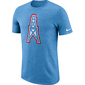Nike Men's Tennessee Titans Marled Historic Performance Blue T-Shirt