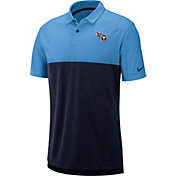 Nike Men's Tennessee Titans Sideline Early Season Light Blue Polo