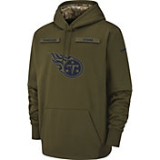 Nike Men's Salute to Service Tennessee Titans Therma-FIT Performance Hoodie
