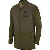 Nike Men's Salute to Service Houston Texans Hybrid Full-Zip Jacket