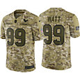 Nike Men's Salute to Service Houston Texans J.J. Watt #99 Camouflage Limited Jersey