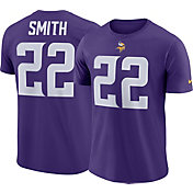 Nike Men's Minnesota Vikings Harrison Smith #22 Pride Logo Purple T-Shirt