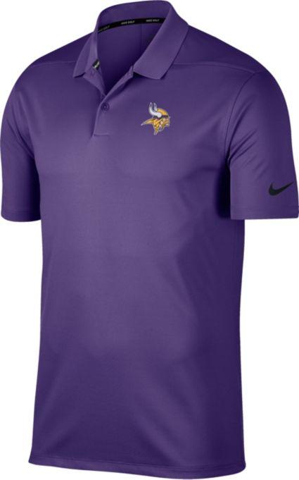 Nike Men's Minnesota Vikings Victory Purple Golf Polo