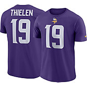 Nike Men's Minnesota Vikings Adam Thielen #19 Pride Logo Purple T-Shirt