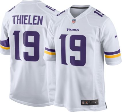 392398102 Nike Men s Away Game Jersey Minnesota Vikings Adam Thielen  19. noImageFound