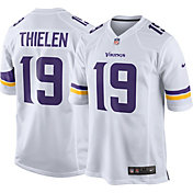 Nike Men's Away Game Jersey Minnesota Vikings Adam Thielen #19